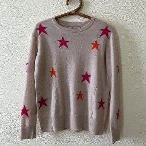 Philosophy Cashmere Stars Sweater M
